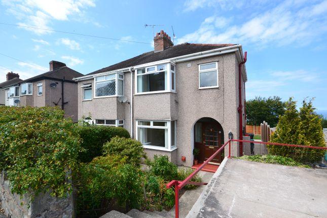 Thumbnail Semi-detached house for sale in Cynfran Road, Llysfaen