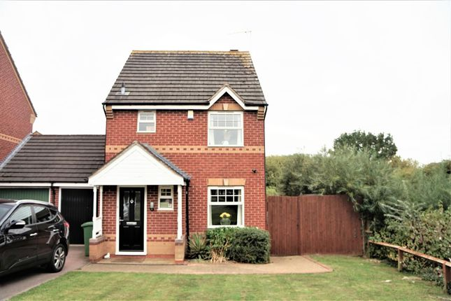 Thumbnail Link-detached house for sale in Foxon Way, Braunstone, Leicester
