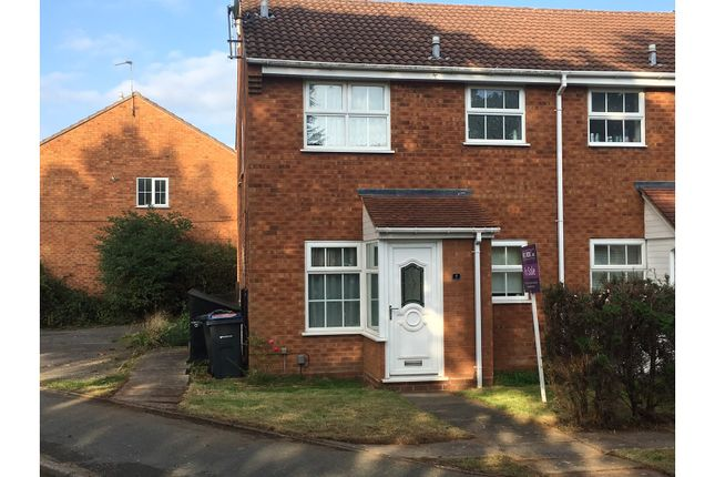 Thumbnail End terrace house for sale in Bridge Piece, Birmingham