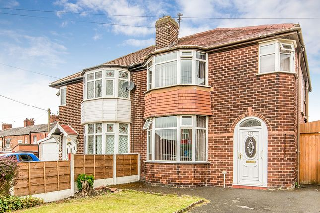 Thumbnail Semi-detached house for sale in Abbey Hey Lane, Abbey Hey, Manchester
