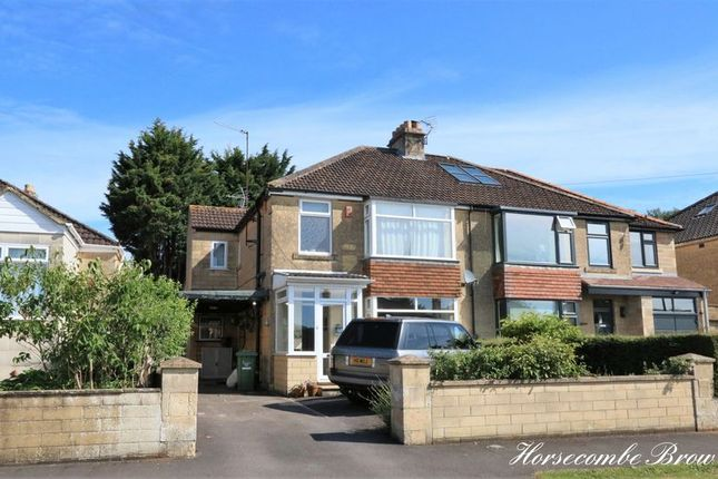 Thumbnail Semi-detached house for sale in Horsecombe Brow, Combe Down, Bath