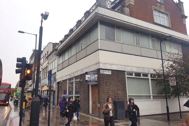 Thumbnail Retail premises to let in Seven Sisters Road, London
