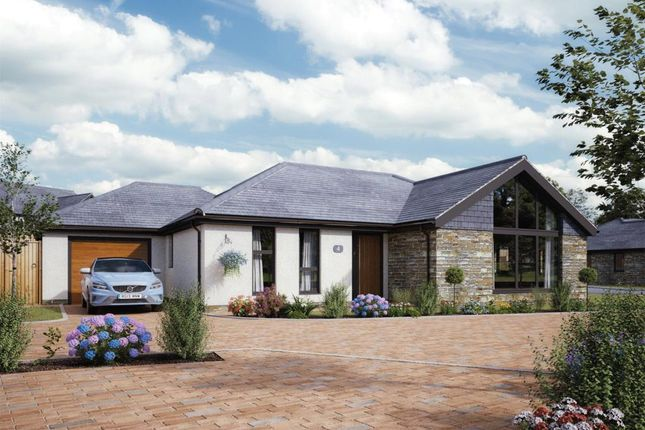 Thumbnail Detached bungalow for sale in Camaret Gardens, Camaret Drive, St. Ives, Cornwall