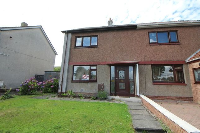 Thumbnail Semi-detached house for sale in Tower Terrace, Kirkcaldy