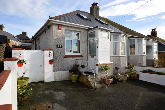 Thumbnail Semi-detached bungalow for sale in Seacroft Road, Plymouth, Devon