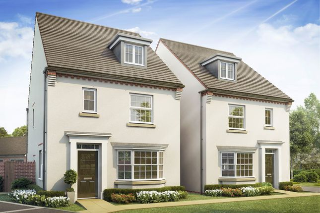 "Thumbnail Detached house for sale in ""Reigate"" at Priorswood, Taunton"