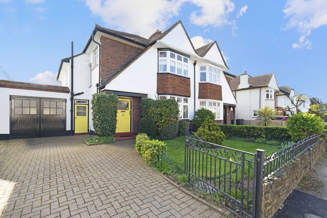 Thumbnail Semi-detached house for sale in Riverside Close, Kingston Upon Thames