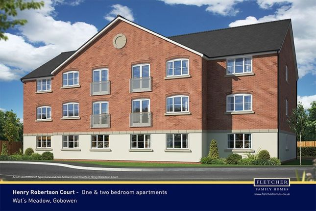 1 bed flat for sale in Henry Robertson Drive, Gobowen, Oswestry