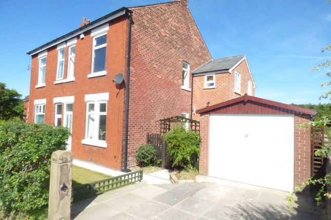 Thumbnail Semi-detached house to rent in Windlehurst Road, Marple, Stockport