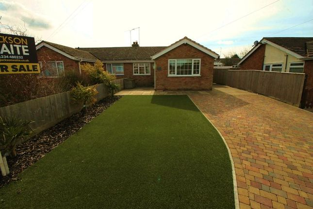 Thumbnail Bungalow for sale in Mill Road, Bozeat, Wellingborough