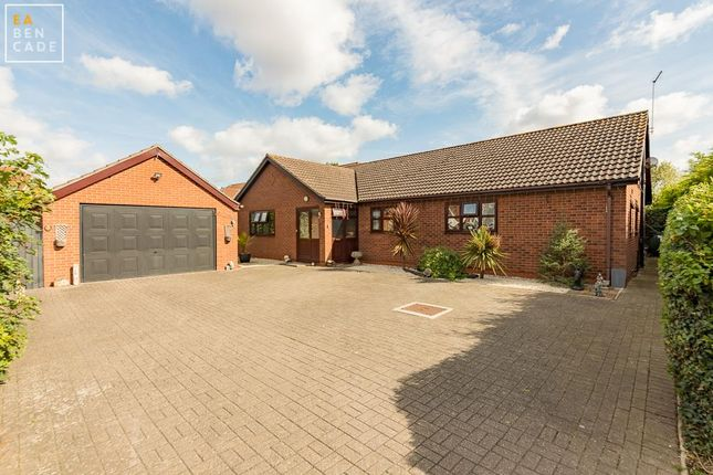 Thumbnail Detached bungalow for sale in Kelsey Lane, Althorpe, Scunthorpe