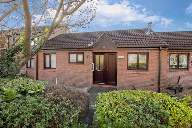 Thumbnail Semi-detached bungalow for sale in Peakes Croft, Bawtry, Doncaster