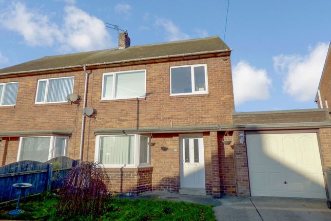 Thumbnail Semi-detached house to rent in Hartlands, Bedlington