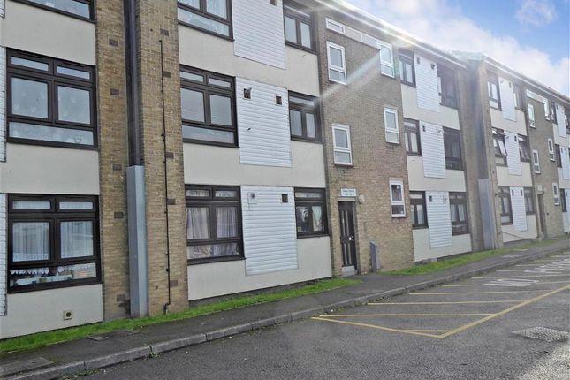 Front of Cleves Crescent, New Addington, Croydon, Surrey CR0