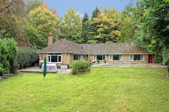 Thumbnail Detached bungalow for sale in Caldecote, Nr Nuneaton, Warwickshire