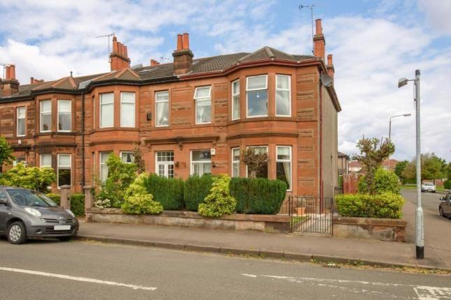 Thumbnail End terrace house for sale in Third Avenue, Glasgow, Lanarkshire