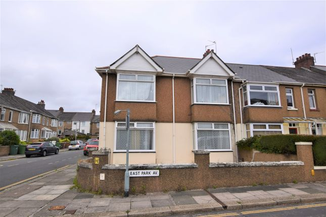 Thumbnail Terraced house for sale in East Park Avenue, Mutley, Plymouth
