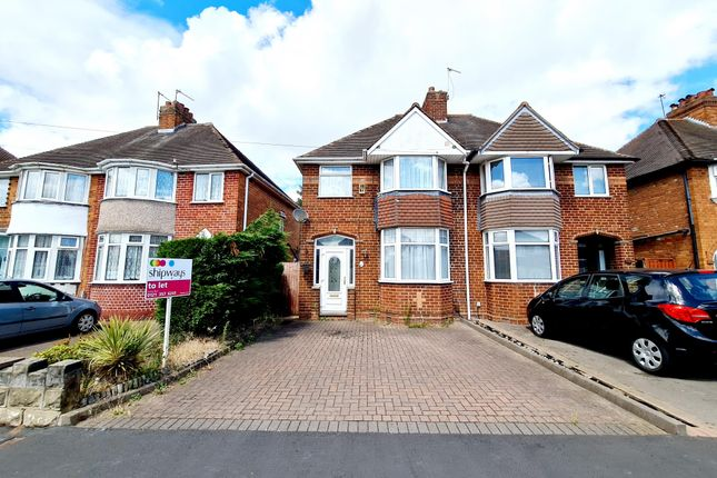 Thumbnail Semi-detached house to rent in Jayshaw Avenue, Great Barr, Birmingham