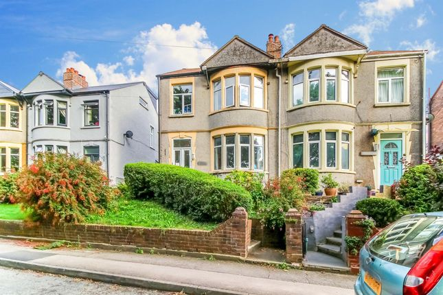 Thumbnail Semi-detached house for sale in Claude Road West, Barry