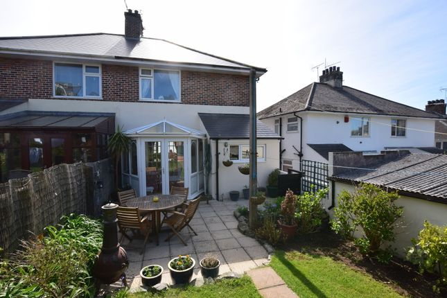 Thumbnail Semi-detached house for sale in Lopes Road, Milehouse, Plymouth