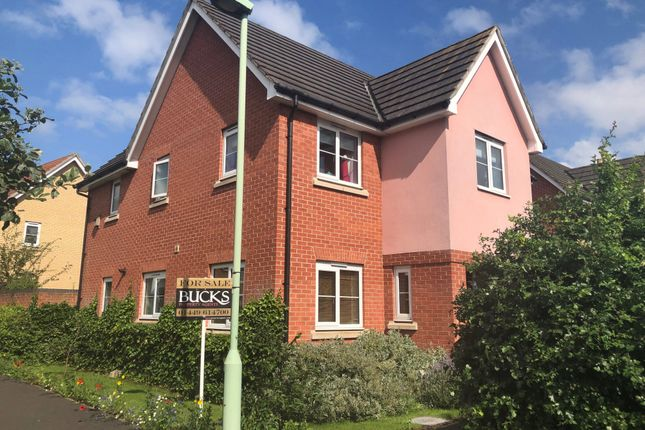 Thumbnail Detached house for sale in Buzzard Rise, Stowmarket