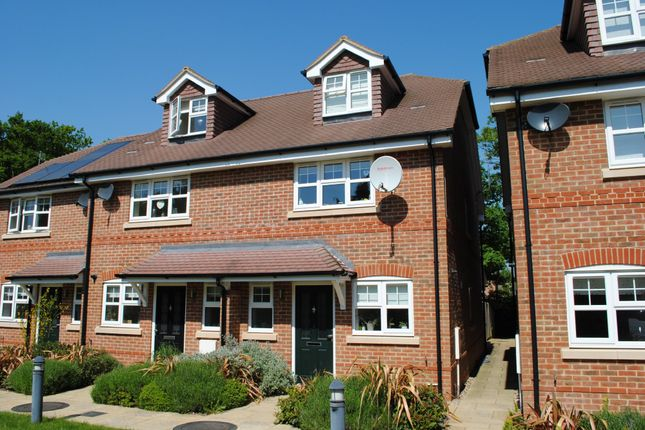 Thumbnail End terrace house to rent in Cresley Drive, London Road, Hook