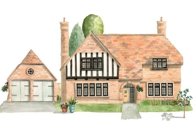 Thumbnail Detached house for sale in Kingshurst Gardens, Bretforton Road, Badsey, Worcestershire