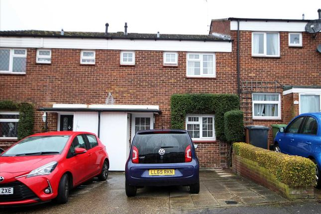 Thumbnail Terraced house for sale in Meadow Road, Bushey WD23.