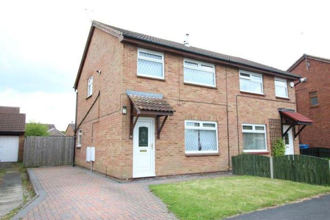 Thumbnail Semi-detached house to rent in Gillamoor Close, Hull