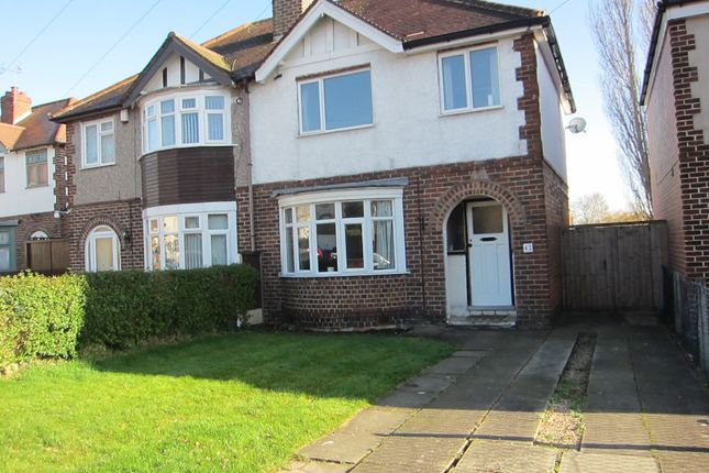 Thumbnail Semi-detached house to rent in Birchwood Avenue, Littleover