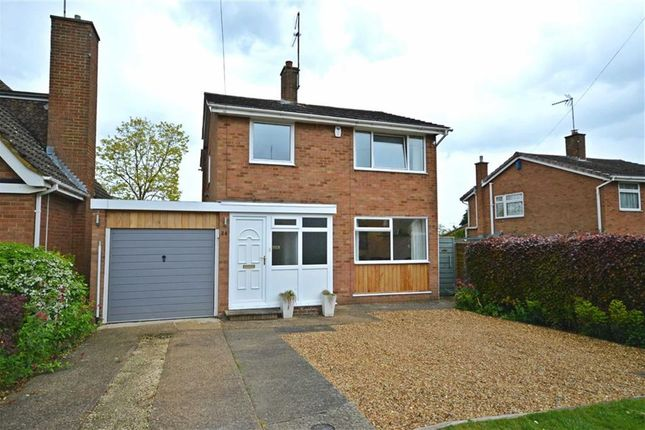 Thumbnail Detached house for sale in Langford Drive, Wootton, Northampton