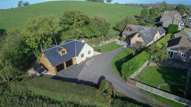 Thumbnail Detached house for sale in Temple Cloud, Near Bristol