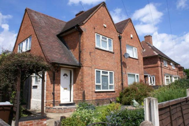 3 bed semi-detached house to rent in Saxondale Drive, Bulwell, Nottingham
