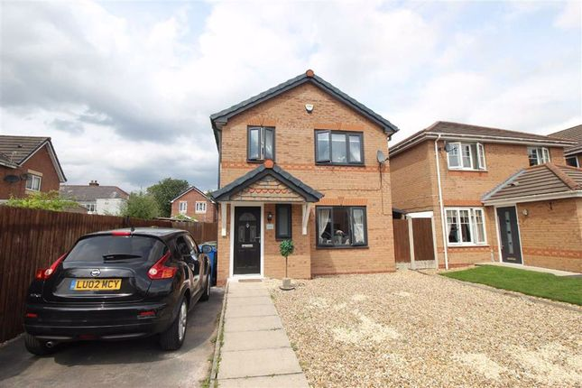 Thumbnail Detached house for sale in Ancroft Drive, Hindley, Wigan