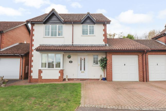 Thumbnail Detached house for sale in Tees Close, Chandler's Ford, Eastleigh