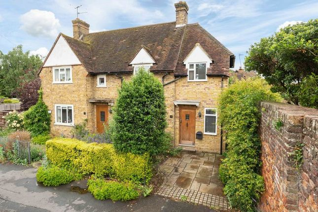Thumbnail Semi-detached house to rent in Old Palace Road, Weybridge