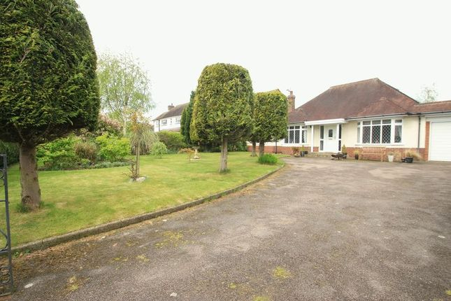 Thumbnail Detached bungalow for sale in Long Street, Wheaton Aston, Stafford