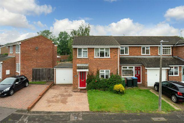Thumbnail End terrace house for sale in Berkeley Square, Woodhall Farm, Hemel Hempstead, Hertfordshire