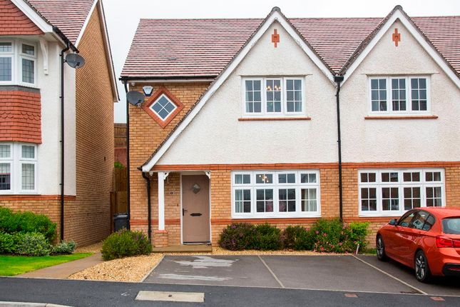 3 bed semi-detached house for sale in Upland Drive, Trelewis, Treharris CF46