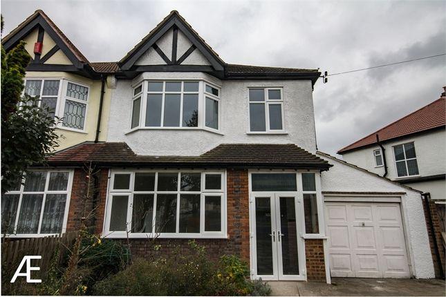 Thumbnail Semi-detached house to rent in Eden Park Avenue, Beckenham, Kent