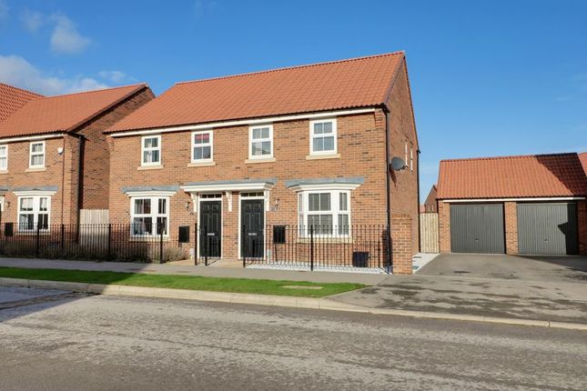 Thumbnail Semi-detached house for sale in Lawrance Avenue, Anlaby, Hull