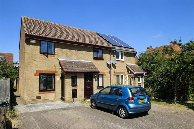 Thumbnail End terrace house for sale in Longhedge, Caldecotte, Milton Keynes, Bucks