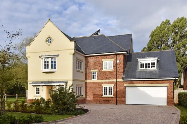 Detached house to rent in Montague Park, Winkfield, Windsor, Berkshire