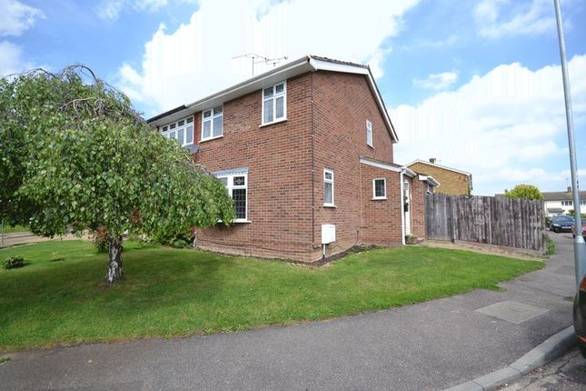 Thumbnail Semi-detached house to rent in Woodham Park Drive, Benfleet