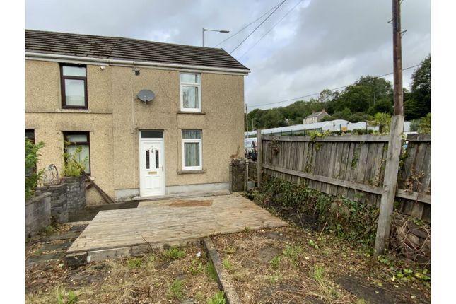 Thumbnail End terrace house for sale in Heol Twrch, Swansea