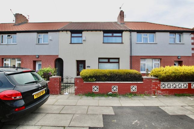 Thumbnail Terraced house to rent in Hurlingham Road, Liverpool