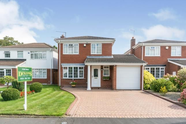 Thumbnail Detached house for sale in Inchford Road, Solihull, West Midlands