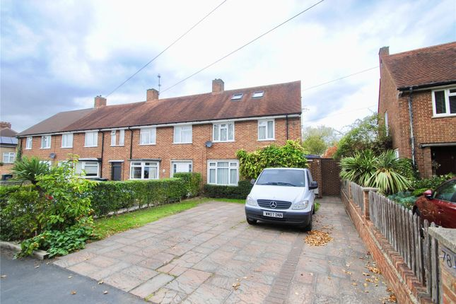 Thumbnail End terrace house for sale in Hazelwood Lane, Abbots Langley