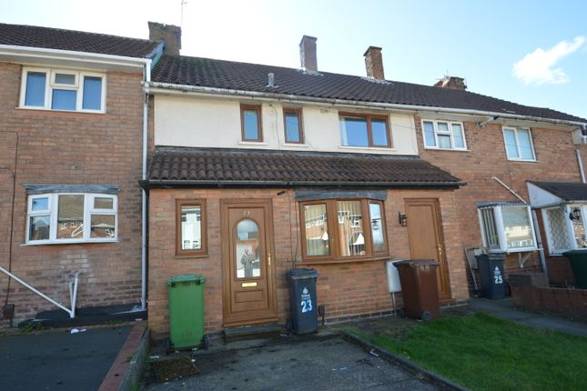 Thumbnail Terraced house to rent in Lister Road, Walsall