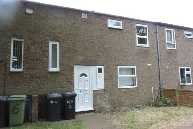 Thumbnail Terraced house to rent in Shearwater Lane, Wellingborough